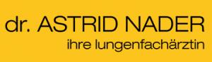 Dr. Astrid Nader ihre Lungenfachärztin